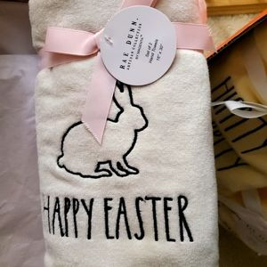 Rae Dunn Easter Towels